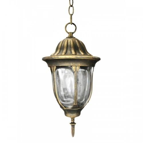 Lampa ogrodowa wisząca POLUX FLORENCJA  patyna