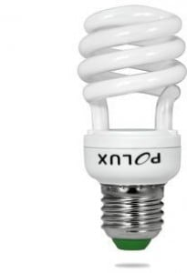 Świetlówka energooszczędna POLUX Platinum mini SST2 12W E27 2700K
