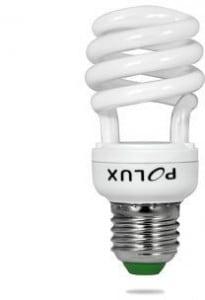 Świetlówka energooszczędna POLUX Platinum mini SST2 20W E27 2700K
