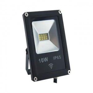 Projektor LED POLUX 10W IP65 czujnik czarny