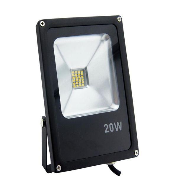 Projektor LED POLUX  20W  IP65 czarny