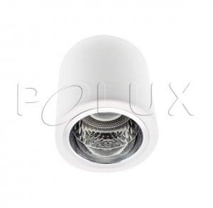 Oprawa natynkowa metalowa okrągła POLUX JUPITER MD-3011 biała small 1
