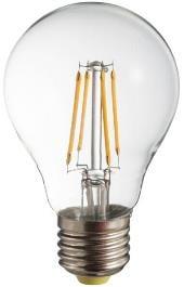 Żarówka LED filament POLUX A60 E27 650lm