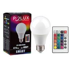 Żarówka LED POLUX SMART A60 E27 SMDWW RGB 6W 470lm +Pilot