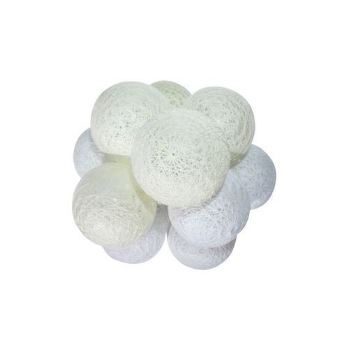 Wielokolorowe Kule Led Cotton Balls 10 Szt.