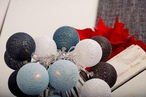 Wielokolorowe Kule Led Cotton Balls 20 Szt. small 2