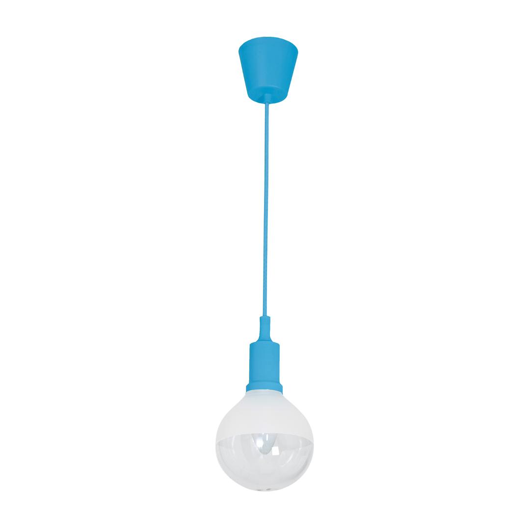 Lampa Wisząca Bubble Blue 5 W E14 Led