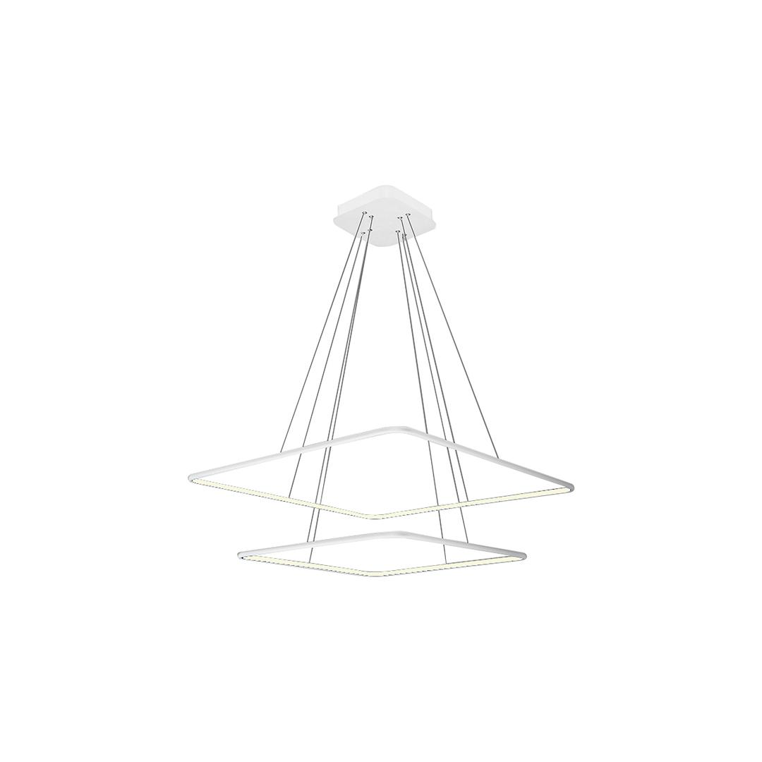 Biała Lampa Wisząca Nix White 50 W Led