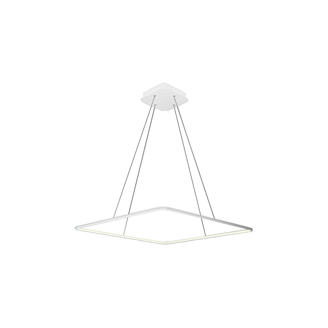 Biała Lampa Wisząca Nix White 25 W Led