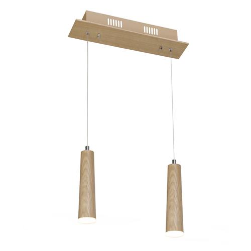 Drewno Lampa Wisząca Stick 10 W Led