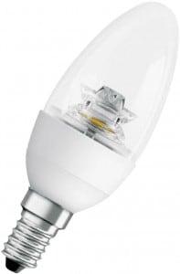 Żarówka Świecowa OSRAM LED 6 W 470 lm Przezroczyste szkło