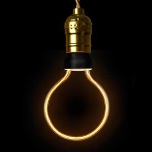 Żarówka dekoracyjna LED ART Globe,  8 W, E27 small 1