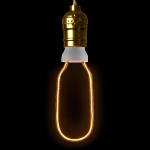 Żarówka dekoracyjna LED ART Tube, 8W, E27 small 1