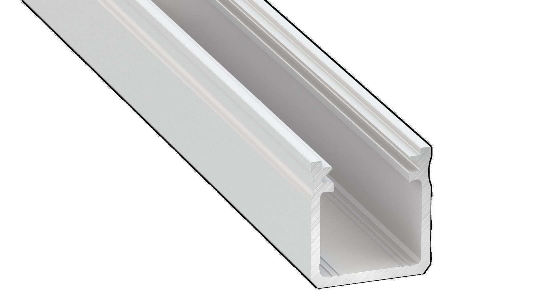 Profil Aluminiowy Biały Typ Y 1m + Klosz Mleczny