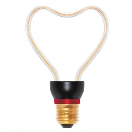 Żarówka dekoracyjna LED Art Heart, 8W, E27
