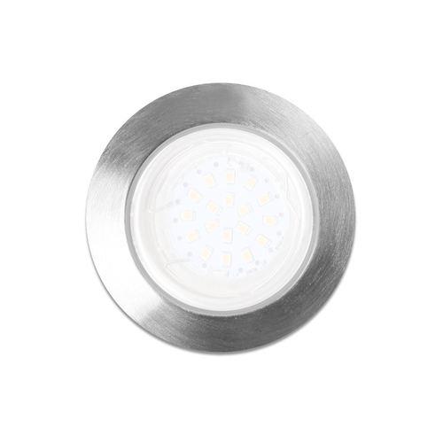 Oczka Okrągłe Gu10 1 X5 W Led Chrom