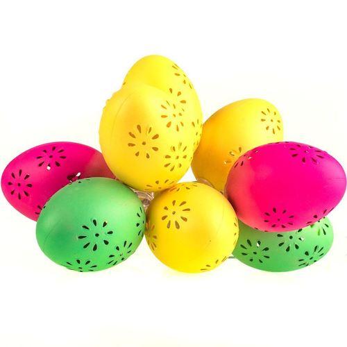 Plastikowe Jajka Wielkanocne Led Ze Wzorem