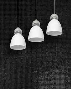 Biała Lampa Wisząca Taurus White 3x E27 small 1