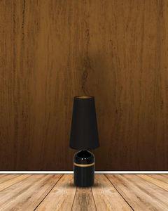 Czarna Lampa Stojąca Virgo 1x E27 small 1