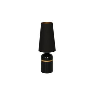 Czarna Lampa Stojąca Virgo 1x E27 small 0
