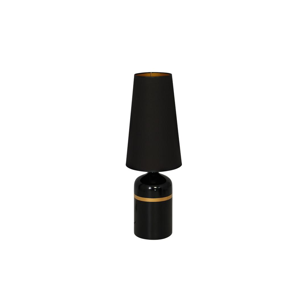 Czarna Lampa Stojąca Virgo 1x E27